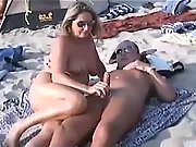 Shameless homemade women taking care of their horny men's needs in public